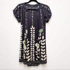 Ted Baker 100% Silk Floral Shift Dress